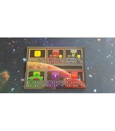 Tablero de jugador Neon para Terraforming Mars